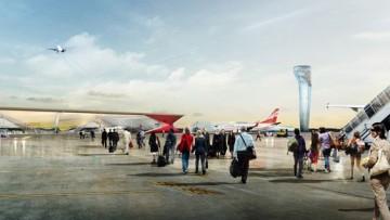 Un aeroporto che cambia pelle, piattaforma per l'Oriente
