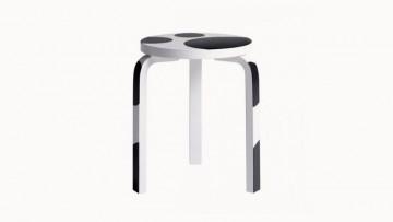 Lo Stool 60 di Alvar Aalto si veste di pois