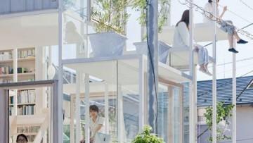 """Sou Fujimoto e la casa trasparente """"sull'albero"""""""