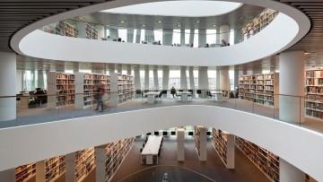 Una nuova biblioteca per l'antica universita' di Aberdeen