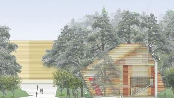 Il nuovo Auditorium del Parco della Citta' dell'Aquila e' pronto all'inaugurazione