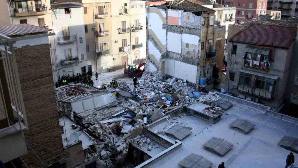 Gli architetti sul crollo delle due palazzine a palermo - Architetto palermo ...