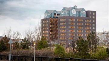 Community in a Cube: il complesso edilizio con le 'casette' sul tetto