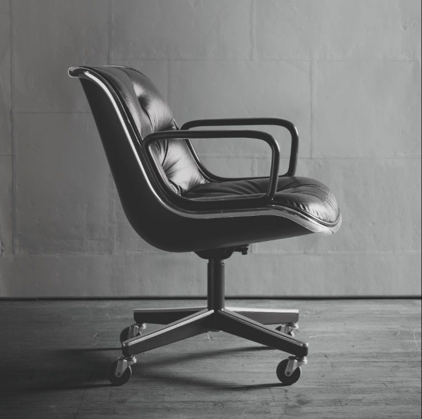 Addio a charles pollock padre della 39 sedia da ufficio for Ufficio architetto design