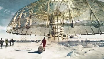 Polar Umbrella: l'ombrello artico premiato da eVolo