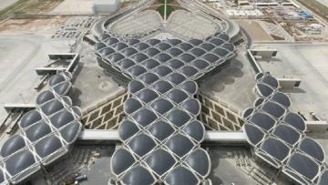 Queen Alia, inaugurato l'aeroporto di Amman progettato da Foster + Partners
