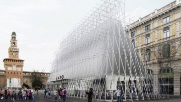 Expo 2015, il Gate di Alessandro Scandurra sara' l'infopoint
