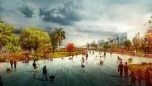 Bari Centrale, il parco sopra i binari di Massimiliano Fuksas