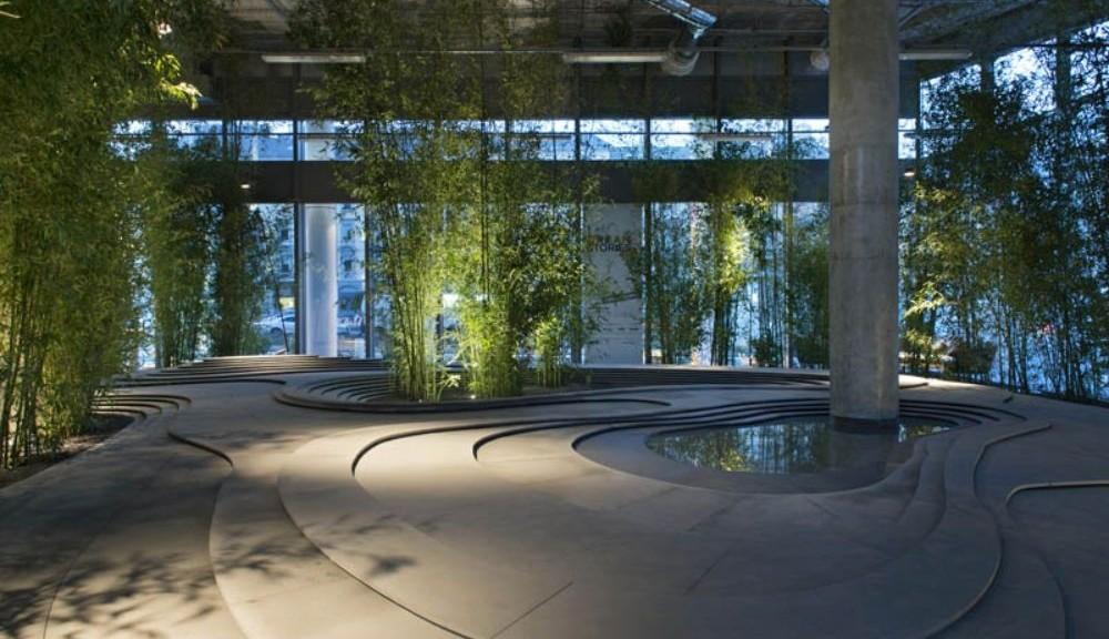 Giardini Moderni Zen : A porta nuova il giardino zen di kengo kuma architetto