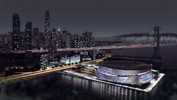 La Golden State Warriors Arena di Snohetta e Aecom