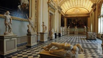 Nuovi Uffizi di Firenze, il restauro della Sala della Niobe