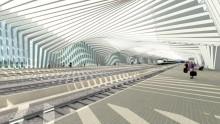 """Apre la stazione di Reggio Emilia Mediopadana """"firmata"""" Calatrava"""