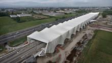 Stazione AV di Reggio Emilia Mediopadana: ecco le foto