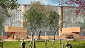 Frank Gehry: il controverso Eisenhower Memorial e' stato approvato