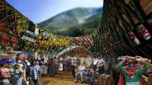 Il Foster + Partners Prize 2013 al lakou di bambu'