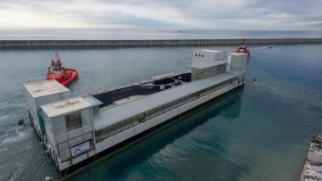 All'Acquario di Genova, la 'casa' dei cetacei e' firmata Renzo Piano