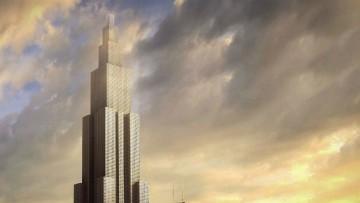 Via ai lavori del grattacielo piu' alto del mondo
