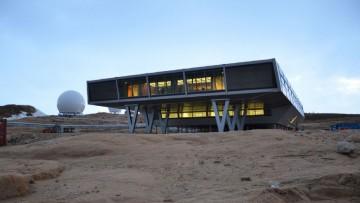 La stazione di ricerca in Antartide realizzata con i container da spedizione