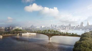 "Thomas Heatherwick svela il suo progetto del ""Ponte giardino"""
