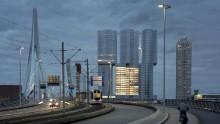 """Il De Rotterdam, """"la citta' verticale"""" di Oma/Rem Koolhaas e' completa"""