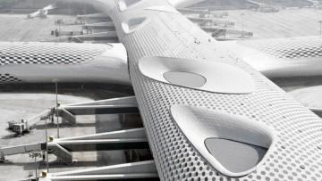 Lo Shenzhen Bao'an International Airport disegnato da Studio Fuksas e' pronto