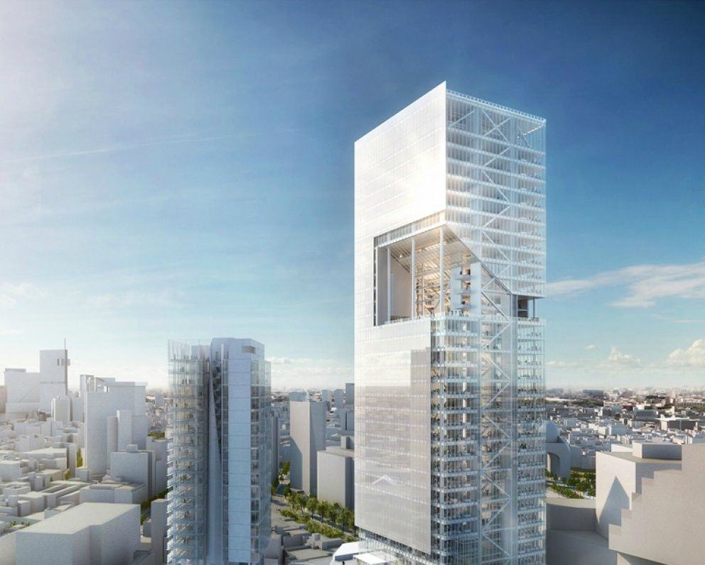 Richard meier progetto per le reforma towers a citta 39 del for Richard meier architetto