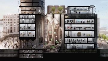Thomas Heatherwick svela la nuova galleria d'arte del V&A Waterfront Museum