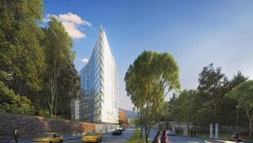 Richard Meier 'conquista' Bogota' con due torri residenziali