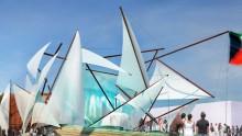 Expo 2015, il padiglione del Kuwait tra acqua e deserto