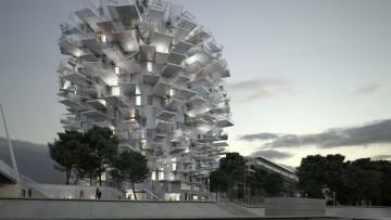 Quando l'architettura segue le forme della natura: 'l'arbre blanc' di Sou Fujimoto