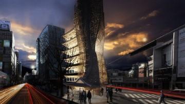 Citta' sospese e grattacieli-filtro: e' il futuro del 'vertical living'
