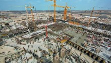 Per il nuovo terminal di Abu Dhabi oltre 6 mila tavoli per solai