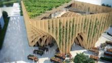 Per Expo 2015, la Francia presenta un padiglione in legno riutilizzabile