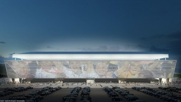 L'Arena Corinthians, vetro e trasparenza per Brasile 2014