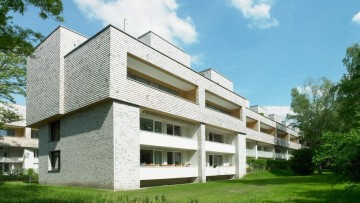Il social housing d'annata riqualificato con il legno