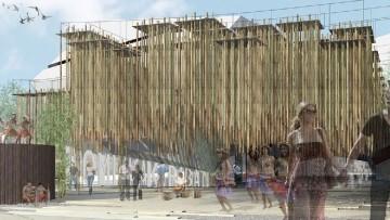 Expo 2015, avviato il cantiere dei 'cluster di legno'