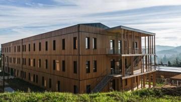 E' in legno il primo complesso per uffici passivo di Francia