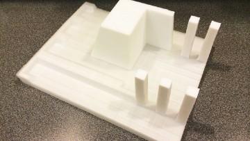 Frank Lloyd Wright 'restaurato' con le stampanti 3d