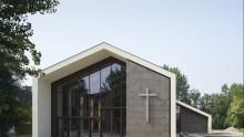 Ricostruzione in Emilia Romagna: la chiesa temporanea di Medolla