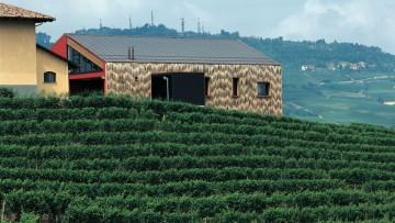 Architettura del vino: cantina La Brunella nelle Langhe