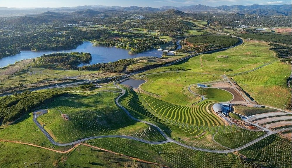World architecture festival 2014 il national arboretum for Progettazione paesaggistica