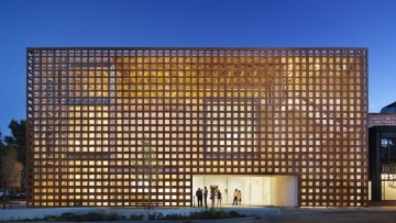Shigeru Ban e il legno: l'Aspen Art Museum