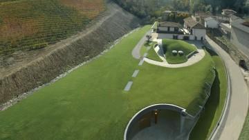 Architettura del vino: la cantina ipogea di Cascina Adelaide a Barolo
