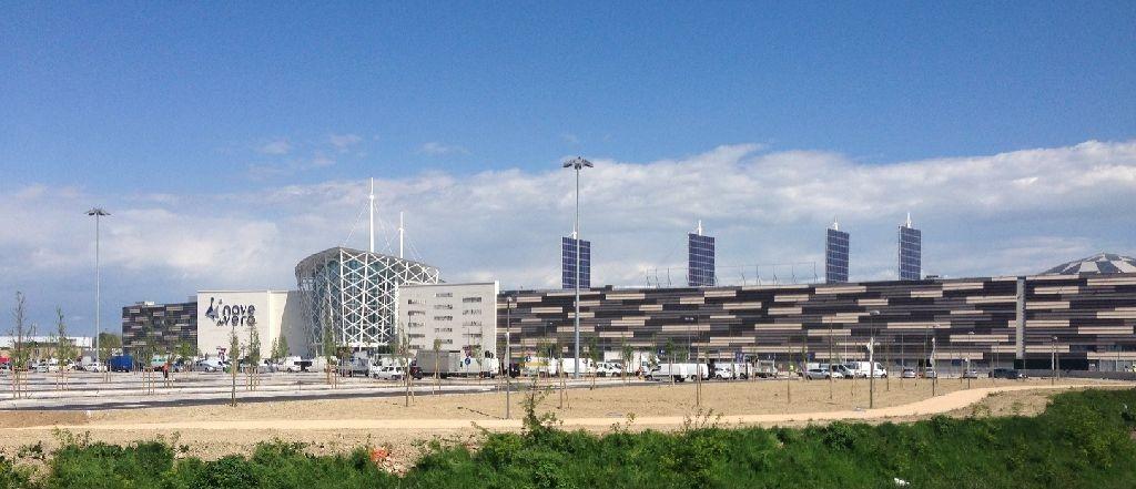 Il Nave de Vero a Marghera, primo centro commerciale in Italia a ottenere la certificazione Breeam