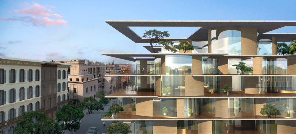 Mad architects il super studio cinese 39 debutta 39 a roma for Architetto interni roma