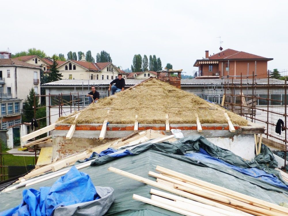 Costruire ecologico l 39 esperienza di nova civitas a biella for Costruire ecologico