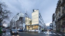Residenze sociali: Patronage Laique 'Jules Valles' | materiali, facciate, serramenti