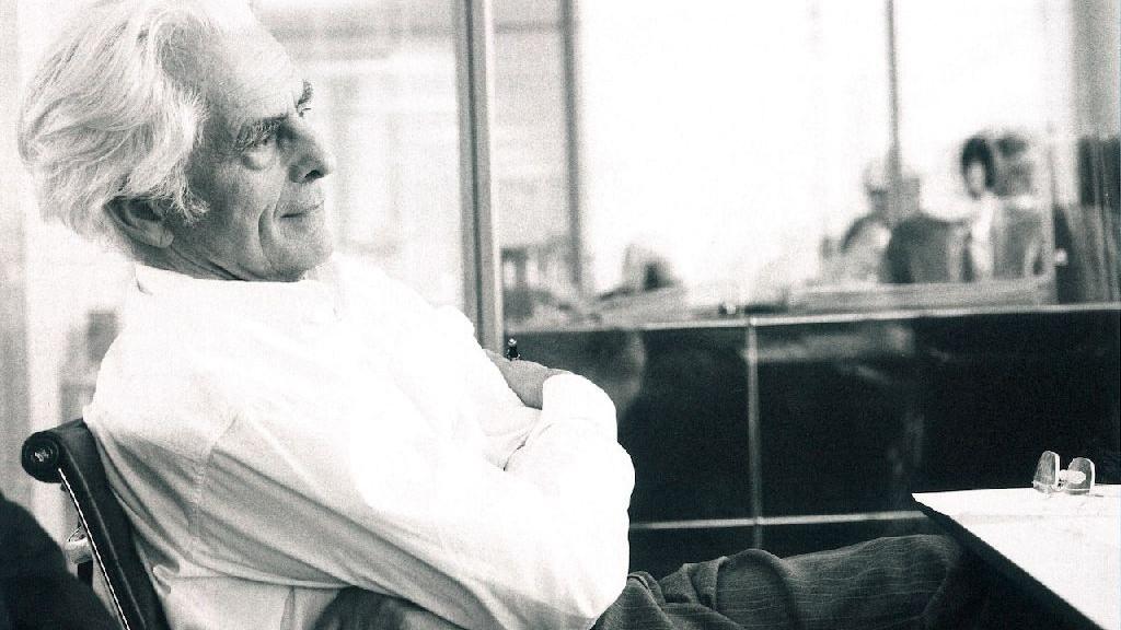 Frei Otto nel 2000 (foto © Ingenhoven und Partner Architekten, Düsseldorf)