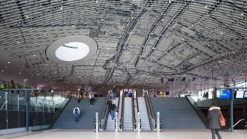 La nuova stazione ferroviaria di Delft firmata Mecanoo