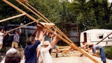 Architetture temporanee in legno: il metodo Segal